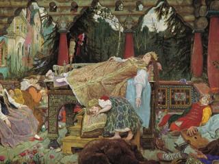 Собирать пазл Sleeping Beauty онлайн
