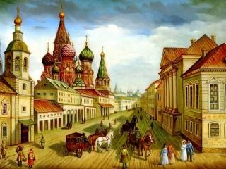 Собирать пазл Old Moscow онлайн