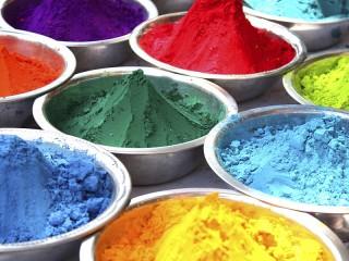 Собирать пазл Dry paints онлайн