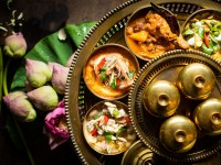 Собирать пазл Thai dishes онлайн
