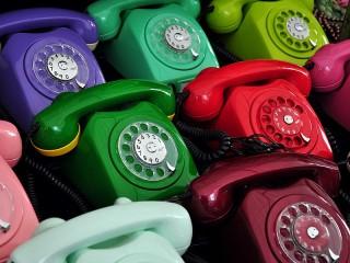 Собирать пазл Telephones онлайн