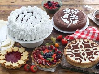 Собирать пазл Desserts онлайн