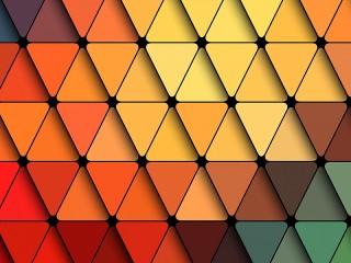 Собирать пазл Triangles онлайн