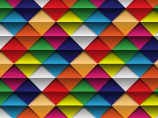 Собирать пазл Triangles and strips онлайн