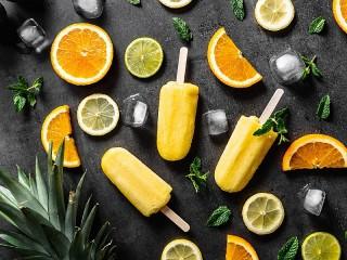 Собирать пазл Citrus ice cream онлайн