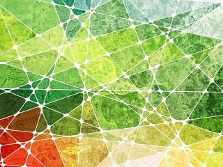 Собирать пазл Color geometry онлайн