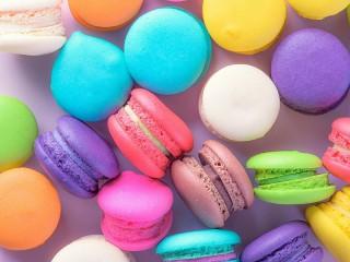 Собирать пазл Colorful cookie онлайн