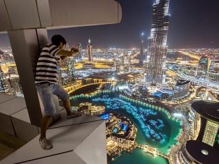 Собирать пазл Evening Dubai онлайн
