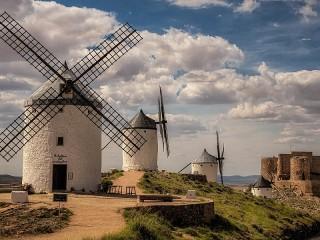 Собирать пазл Windmills онлайн