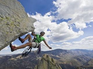 Собирать пазл Above the mountains онлайн
