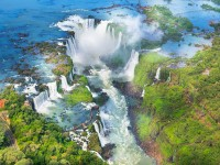 Собирать пазл Waterfalls in Argentina онлайн