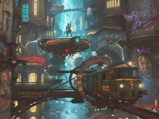 Собирать пазл The station in the future онлайн