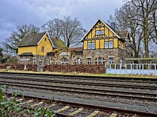 Собирать пазл Station Eversberg онлайн