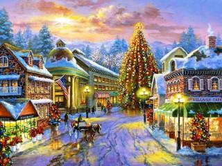 Собирать пазл Magic Christmas онлайн