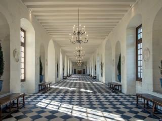 Собирать пазл The Castle Of Chenonceau онлайн
