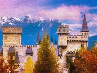 Собирать пазл A castle in Austria онлайн