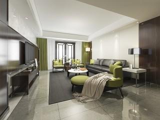 Собирать пазл Green furniture онлайн