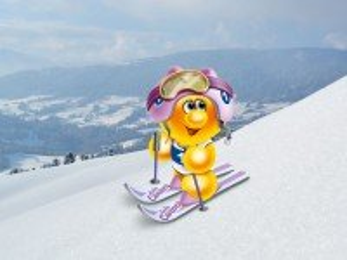 Собирать пазл Life of Gelini - skier онлайн