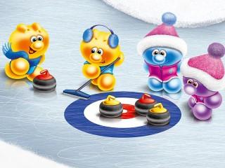 Собирать пазл Life of Gelini - curling онлайн