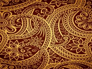 Собирать пазл Pattern gold онлайн